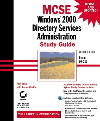 9780782129489: MCSE: Windows Directory Services Administration Study Guide (with CD-ROM)