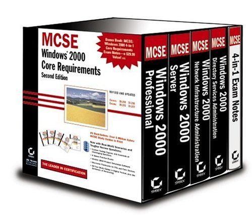 9780782129502: MCSE: Windows 2000 Core Requirements (2nd Edition)