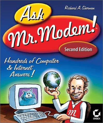 9780782129564: Ask MR. Modem!