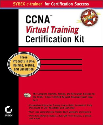 9780782130331: CCNA Virtual Training Certification Kit (Sybex e-trainer for Certification Success)