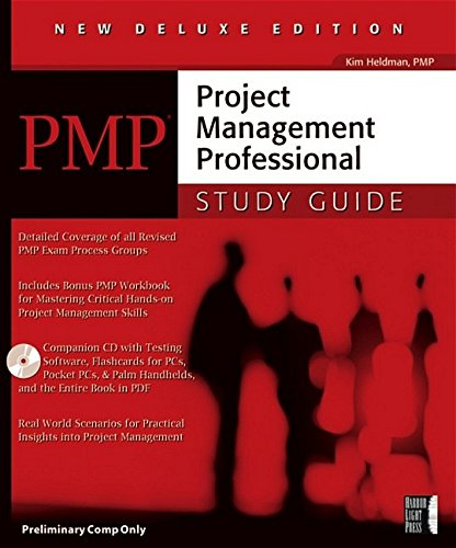 9780782136029: Pmp: Project Management Professional Study Guide