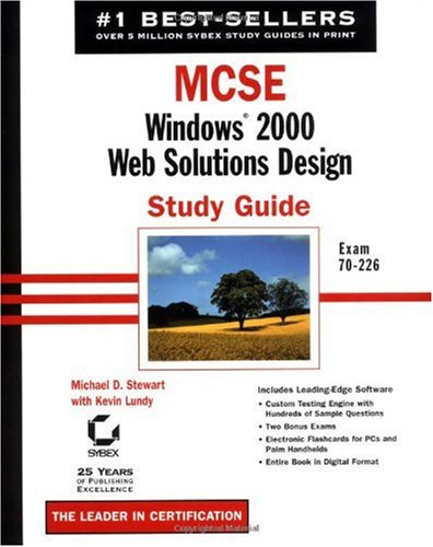 9780782140354: MCSE: Windows 2000 Web Solutions Design Study Guide