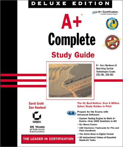 9780782140521: A+ Complete Study Guide, Deluxe Edition