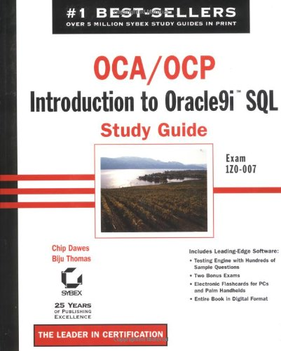 9780782140620: OCA/OCP: Exam 1Z0-007: Introduction to Oracle9i SQL Study Guide