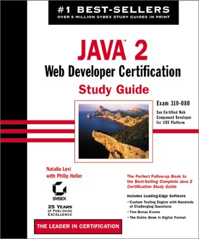 9780782140910: Java 2 Web Developer Certification Study Guide with CD-ROM