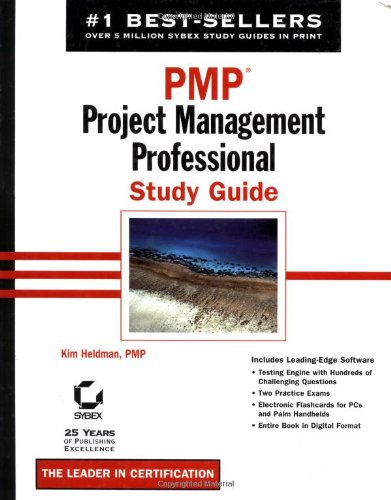 9780782141061: PMP: Project Management Professional Study Guide
