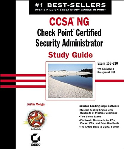 9780782141153: CCSA NG: Check Point Certified Security Administrator Study Guide