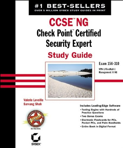 9780782141160: CCSE NG: Check Point Certified Security Expert Study Guide