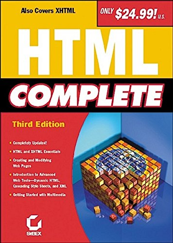 HTML Complete: Sybex Inc. Staff;
