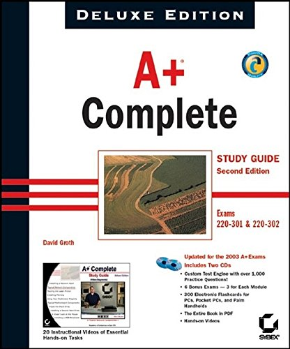 9780782142440: A+ Complete Study Guide, Deluxe Edition (Exam#220-301 and 220-302)