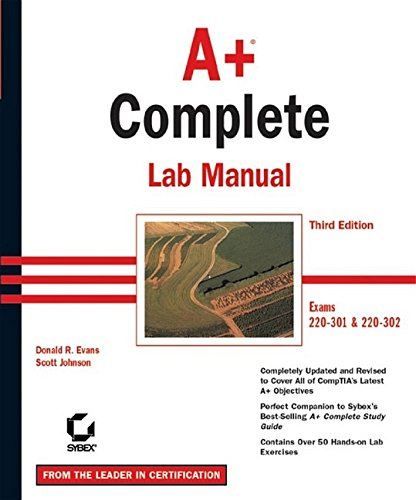 9780782142518: A+ Complete Lab Manual, 3rd Edition