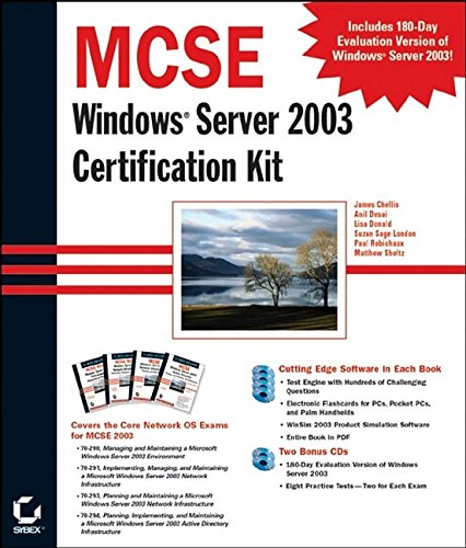 9780782142655: MCSE Windows ®  Server 2003 Certification Kit