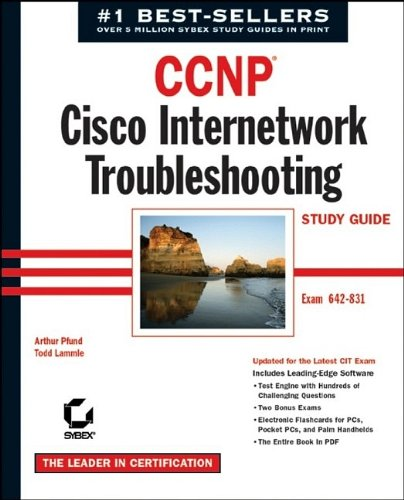 9780782142952: CCNP: Cisco Internetwork Troubleshooting Study Guide (642-831) (CCNP study guides)