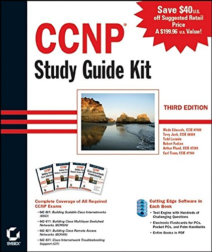 9780782142976: CCNP Study Guide Kit, 3rd Edition (642-801, 642-811, 642-821, 642-831)