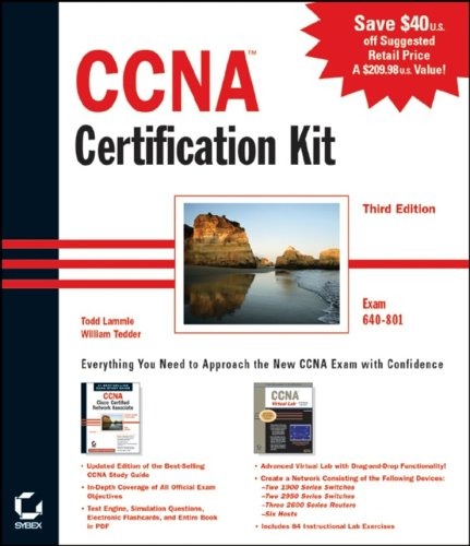 9780782143157: Ccna Certification Kit: Exam 640-801