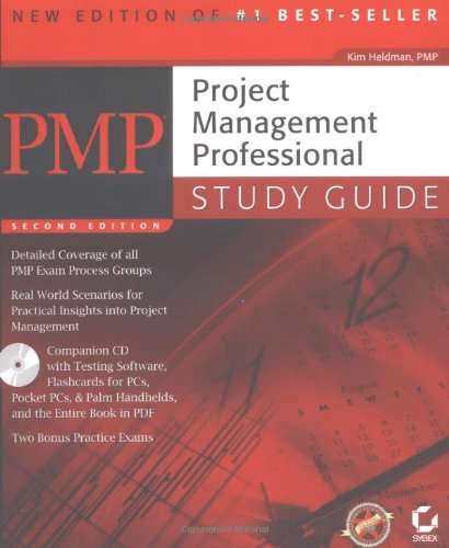 9780782143232: Pmp: Project Management Professional, Study Guide