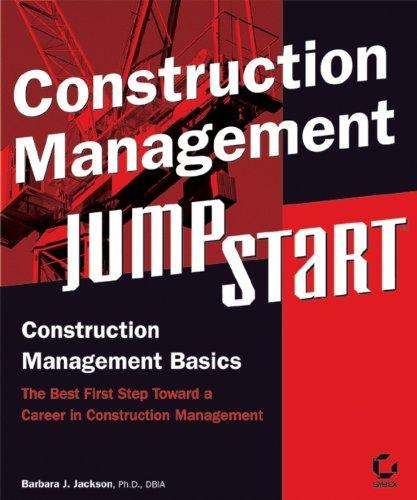 9780782143362: Construction Management JumpStart