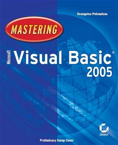 9780782143492: Mastering Microsoft Visual Basic 2005