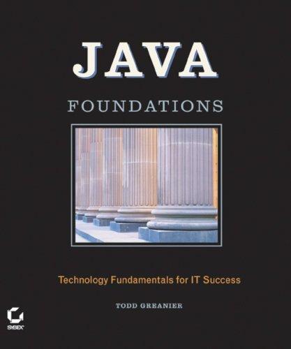 9780782143737: Java?Foundations