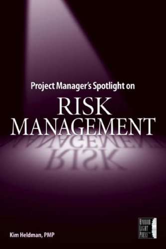 9780782144116: Project Manager's Spotlight on Risk Management