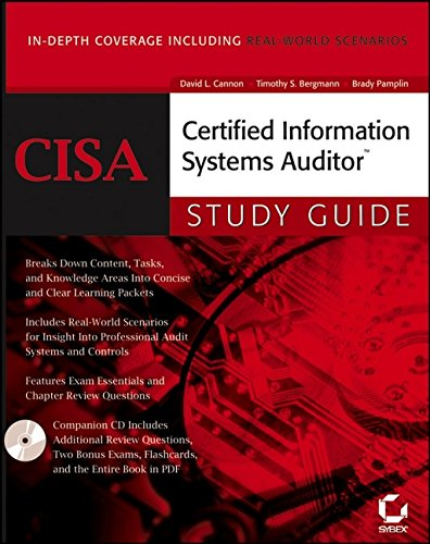 Cisa certified information systems auditor study guide: david l.
