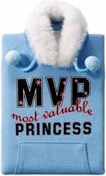 "Blue Hoody ""Most Valuable Princess"" Jacket Journal"