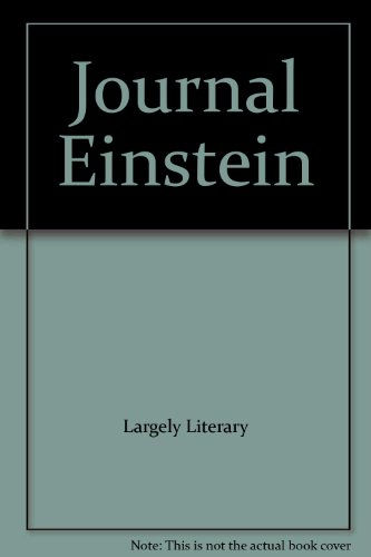 9780782477634: Journal Einstein