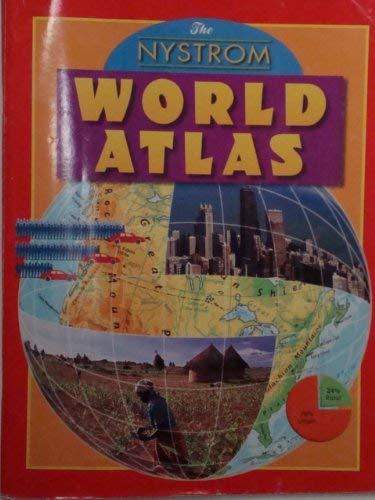 Nystrom World Map.Nystrom World Atlas By Nystrom Nystrom Herff Jones 9780782507300
