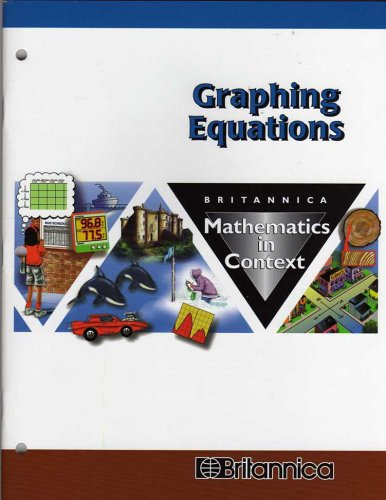 9780782615593: Graphing Equations (Britannica Math in Context)