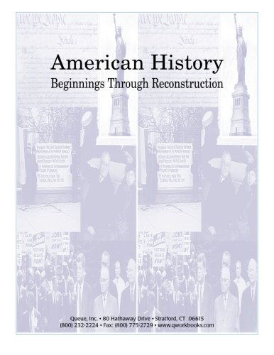 American History: Beginnings Through Reconstruction: Kantrowitz, Jonathan D.