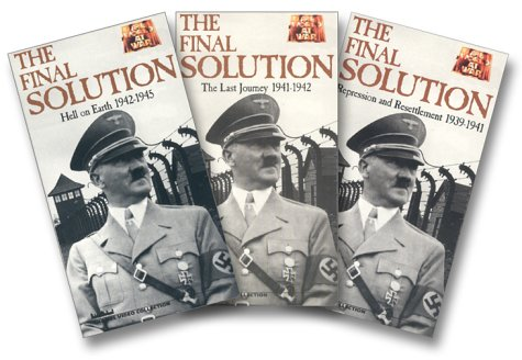9780783105093: The World at War - The Final Solution (4 Tape Set) [VHS]