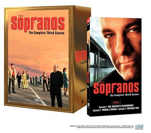 9780783119823: The Sopranos - The Complete Third Season [VHS]