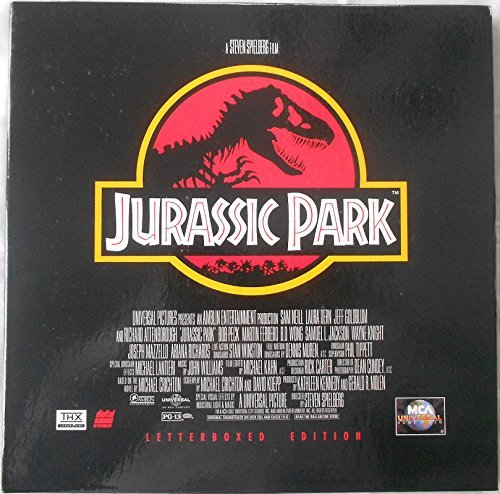 9780783208855: Jurassic Park - Laser Disc Letterboxed Edition