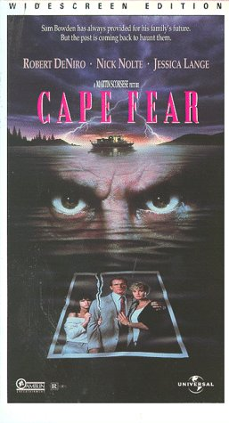 9780783226552: Cape Fear (Widescreen Edition) [VHS]