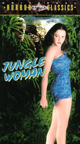 9780783228112: Jungle Woman [VHS]