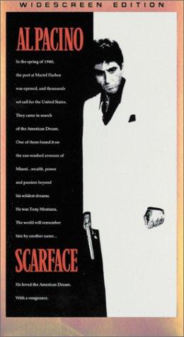 9780783228570: Scarface (Widescreen Edition) [VHS]