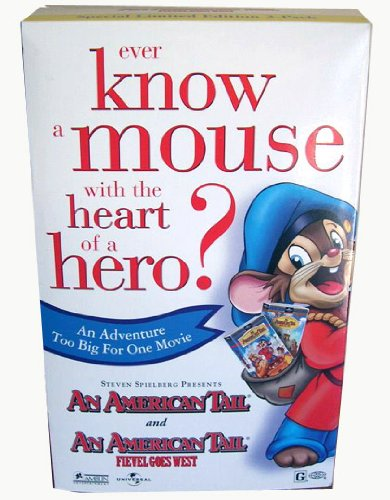 9780783228976: American Tail/American Tail-Fievel Goes West (2 pack) [VHS]