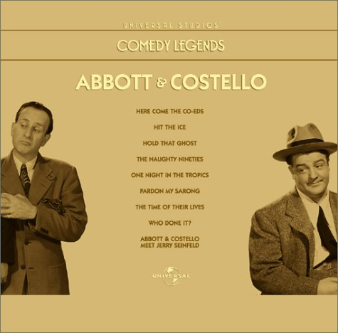 9780783240527: Comedy Legends - Abbott & Costello Collection [VHS]