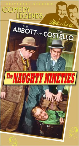9780783240558: Abbott & Costello: Naughty Nineties [VHS]