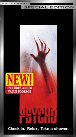 9780783243450: Psycho [VHS]