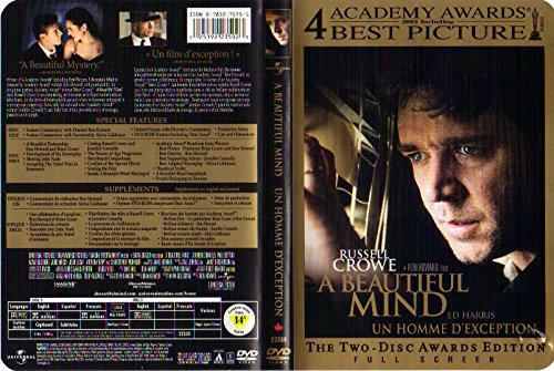9780783271750: A Beautiful Mind (Full Screen Awards Edition) [Import USA Zone 1]