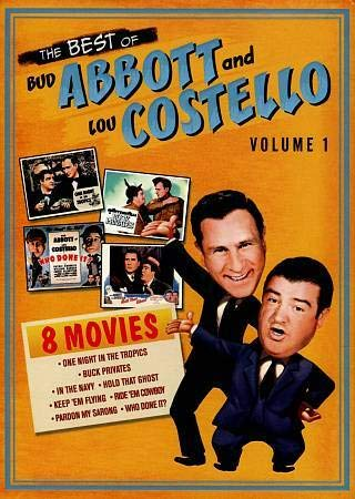 9780783289496: The Best of Abbott & Costello, Vol. 1 (Buck Privates / Hold That Ghost / In the Navy / Keep 'Em Flying / One Night in the Tropics / Pardon My Sarong / Ride 'Em Cowboy / Who Done It?)