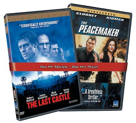 9780783292717: The Last Castle / The Peacemaker [Import USA Zone 1]