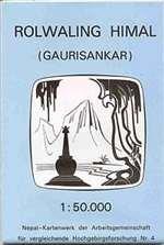 9780783405575: Rolwaling Himal (Gaurisankar)