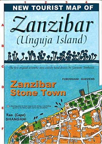 Map of Zanzibar: Maco Editions LLC.