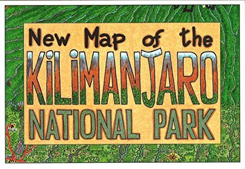 New Map of the Kilimanjaro National Park: Maco Editions LLC.