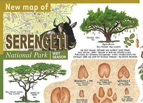 New Map of Serengeti National Park: Maco Editions LLC.