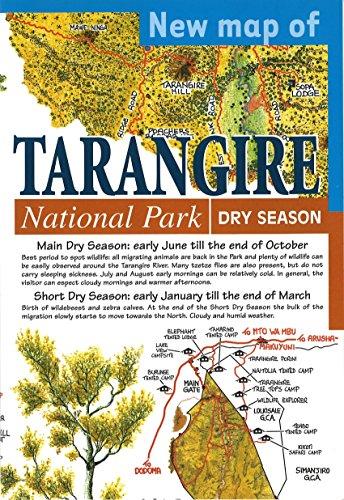 New Map of Tarangire National Park: Maco Editions LLC.