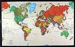 9780783498058: World Tyvek, Political Map