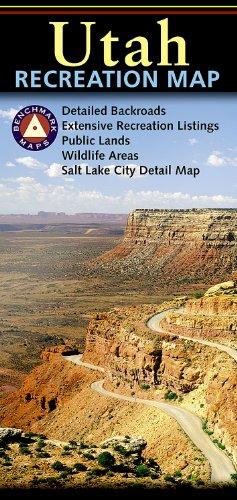 9780783498515: Utah Recreation Map